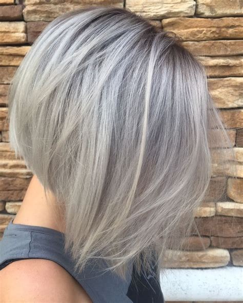short silver blonde hair 17 images about beaute hair on pinterest bobs silver