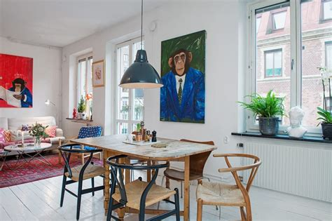 dining table small apartment small swedish apartment as an exle of scandinavian style