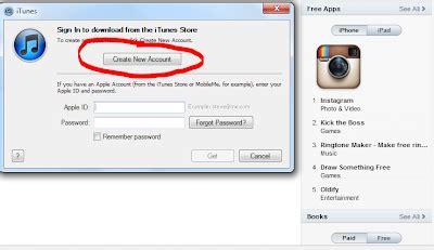 cara membuat apple id tidak ada none opsi none tidak muncul di itunes apple id monumen informasi