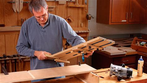 dado jig tackles shelves   thickness finewoodworking