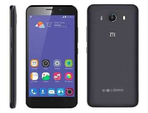 zte grand  android phone  eye scanner announced