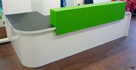 Corner Reception Desk Reception Desks Hi Line Corner Reception Desk
