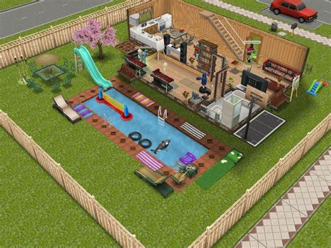 sims freeplay sims freeplay house design