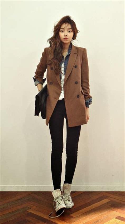 Korean Seven Style Blazer Style 85 jeansjacken koreanische mode and l 228 ssig on