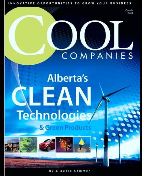 Clean Tech Mba by Cool Companies Clean Tech 2011 By Sammer Mba