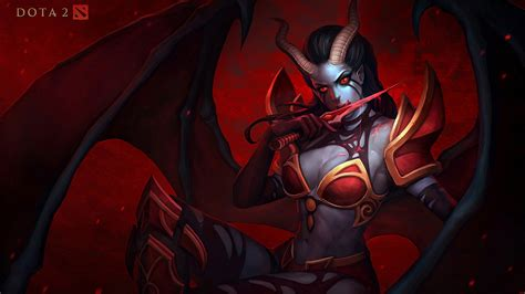 Dota 2 Wallpaper Queen Of Pain | dota 2 wallpaper and background image 1920x1079 id 472418