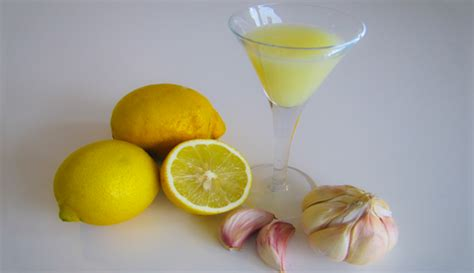 Garlic Detox Water by Garlic And Lemon Remedy Against Bad Cells