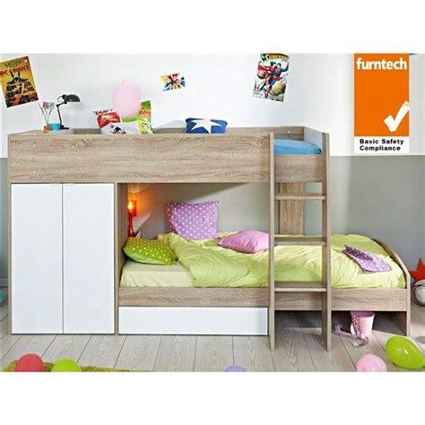 etagenbett mit sofa parisot stim made single bunk bed with wardrobe