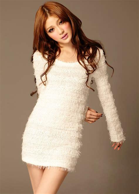 Sweater Dressed white sweater dress dressed up