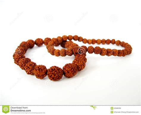 how seed are made bracelet made by seeds from the bodhi tree stock photo