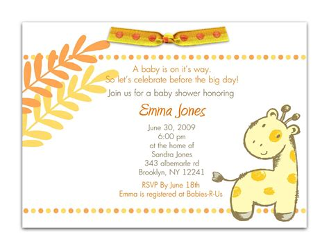 Invitation Template For Baby Shower by Baby Shower Invitation Baby Shower Invitations Templates