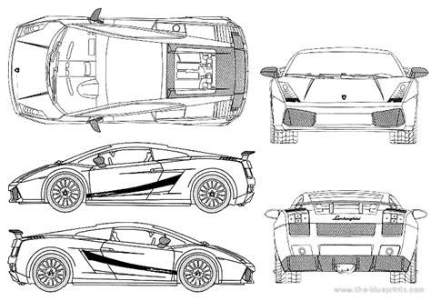 Lamborghini Gallardo Blueprints The Blueprints Blueprints Gt Cars Gt Lamborghini