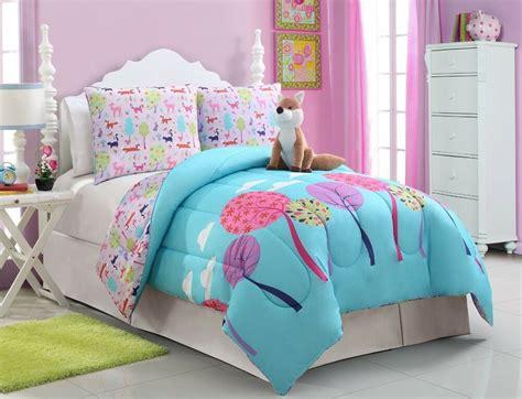 girls kids bedding foxy lady comforter set full size ebay