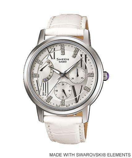 Jam Tangan Wanita Casio Sheen Shn 5512sg jam tangan wanita casio sheen images