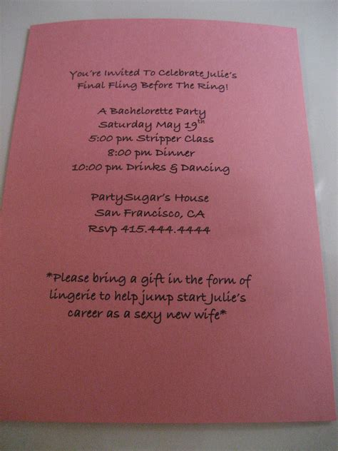 Come With Me Bachelorette Invites come with me bachelorette invites