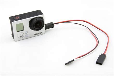 Kabel Data Gopro akcesoria do kamer gopro i sjcam kabel przew 243 d usb fpv av dc do kamer gopro 4 3 3