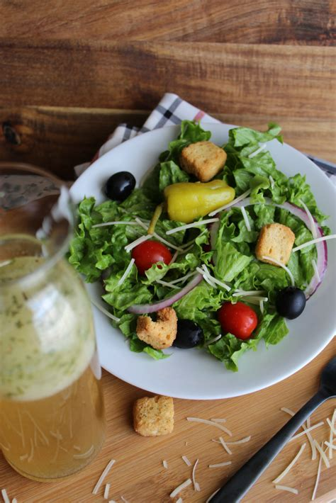 1 serving of olive garden salad copycat olive garden salad dressing my farmhouse table