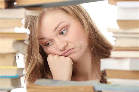 lavoro libreria libreria immagine stock immagine di lavoro ragazza