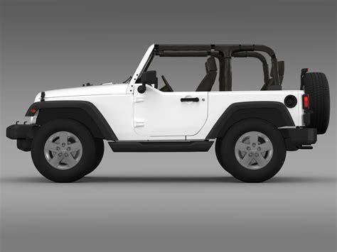 jeep models 2010 jeep wrangler islander edition 2010 3d model buy jeep