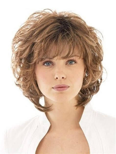 layered cut for women over 55 16 cute short hairstyles for curly hair to make fellow