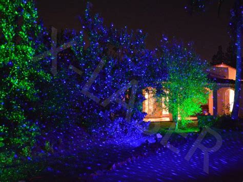 wholesale new cheap green and blue moving garden laser for