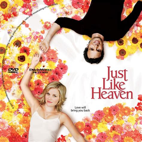 Just Like Heaven by Justlikeheaven Cstm Custom Dvd Labels Justlikeheaven