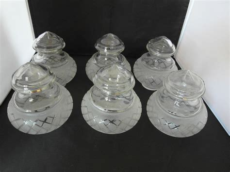 Glass L Shades Uk by Etched Cut Glass L Shades Ebay