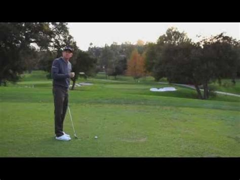 how to stop coming over the top in golf swing hank haney lesson 1 the key to stop coming over the top