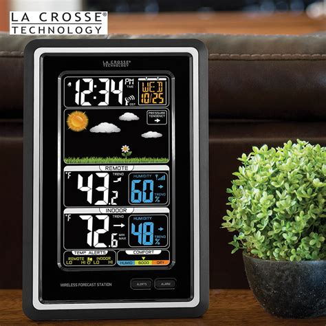 la crosse technology wireless color weather station black budk knives swords at the