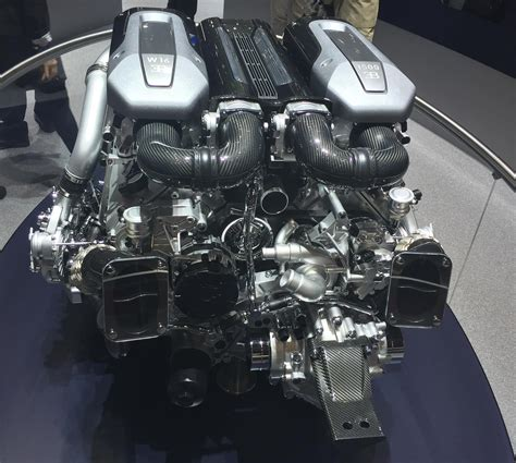 bugatti chiron engine we a enemy the 1 500hp turbo w16 bugatti