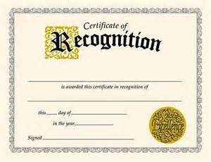 certificate of recognition certificates t 2564 bmi