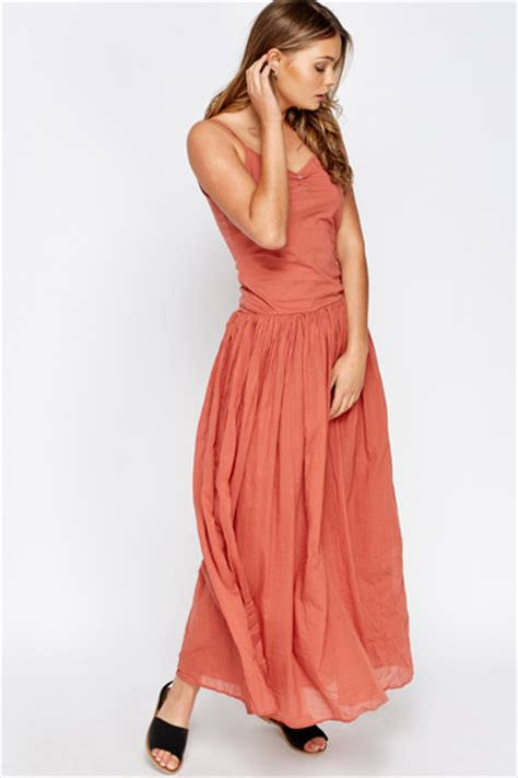 Fladea Maxy casual flared maxi dress just 163 5