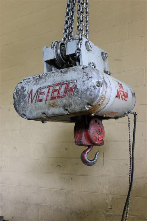 ton cm meteor chain hoist stock