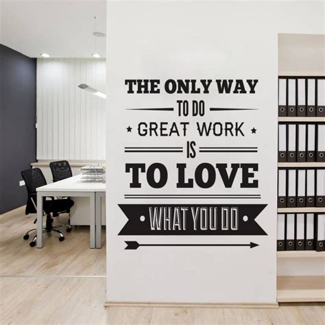 office decor inspiration office decor typography inspirational quote wall