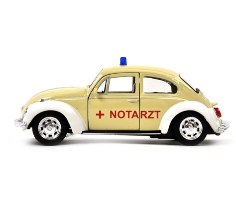 german volkswagen beetle volkswagen beetle cream notarzt german model ambulance