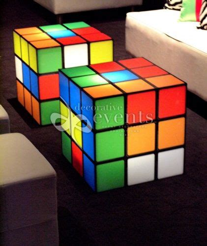 Rubix Cube Coffee Table Rubix Cubes Tables Awesome Styling Inspiration