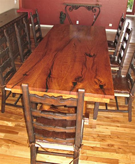 Mesquite Dining Room Table Current Work Wgh Woodworking 2010 2011