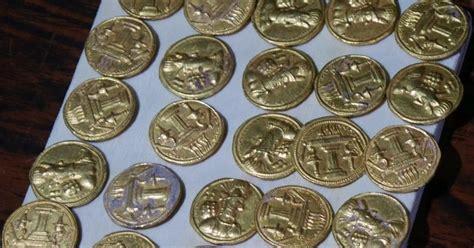 escudos de ouro ou de bronze blog do pr venilton afnb boletim virtual iraque descoberta de 66 moedas