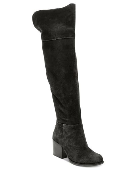 Steve Madden The Knee Boots by Steve Madden S Orabela The Knee Boots In Black Lyst