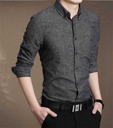 cheap buy mens gray printed casual shirts shopping