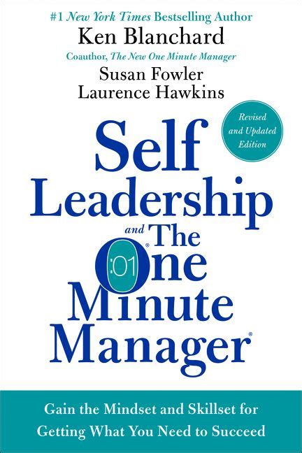 one minute manager book report self leadership and the one minute manager revised edition