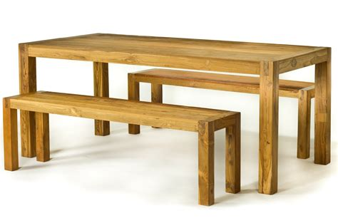 Baby Green Reclaimed Wood Dining Tables Wooden Dining Table And Bench Set