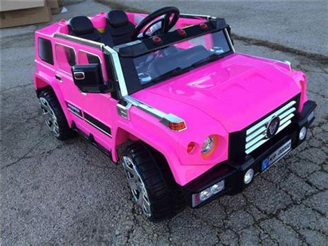 2 seat 12v pink power ride on remote wheels