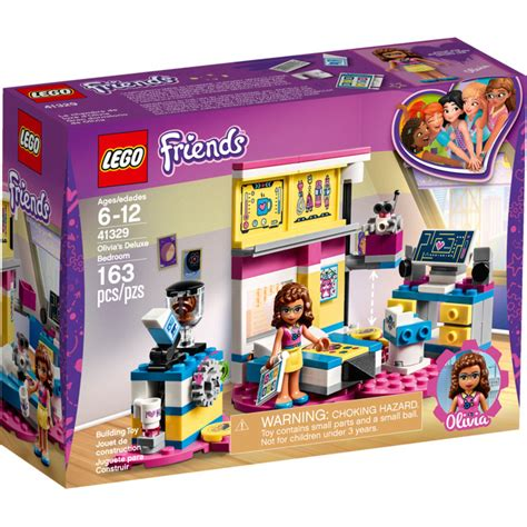 lego bedroom sets lego olivia s deluxe bedroom set 41329 brick owl lego