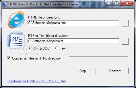 html to rtf pro dll net html to rtf pro dll net convert xhtml aspx html to rtf