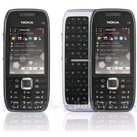 Hp Nokia E75 larger image for nokia e75 uk black expansys uk
