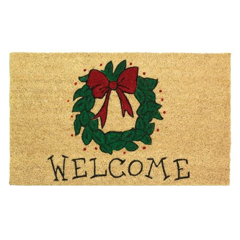 welcome mat wreath welcome mat door mats floor mats
