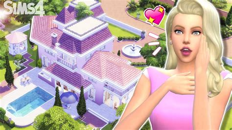 the cc photography plan keeps getting better all new maison de barbie sims 4 youtube