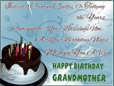 Happy Birthday Wishes For Grandmother Many Happy Returns Of The Day To A Loveable Grandma