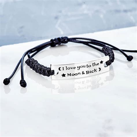 I You To The Moon And Back X1210 Casing Iphone 7 Custom Cove i you to the moon and back friendship bracelet by